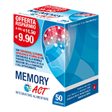 MEMORY ACT - 50 compresse